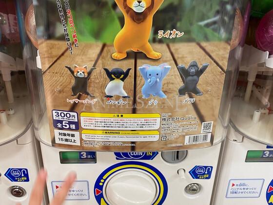 Verrückte Inhalte aus den Gashapon-Automaten in Japan