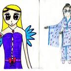 Engel/Kimono