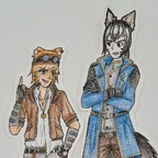 Simeon und Ethan