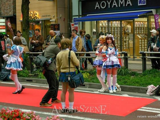 Fotoshooting  Aoyama