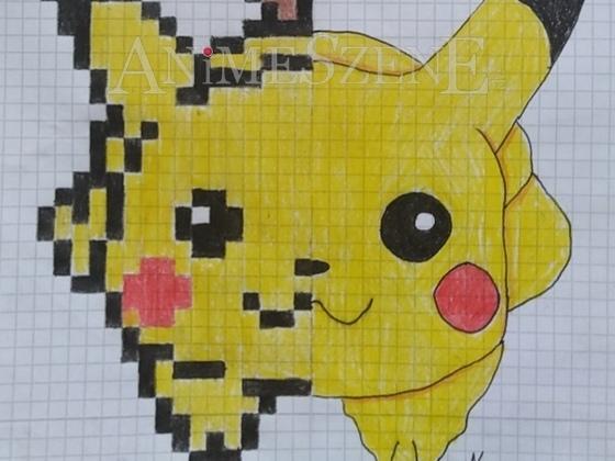 Pikachu 8Bit/Anime
