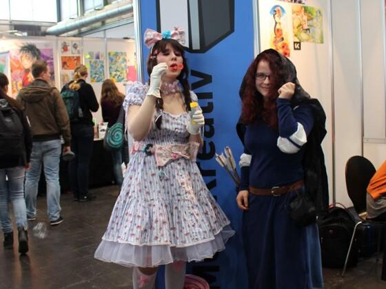 Cosplayer auf der Leipziger Buchmesse 2016