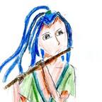 Flötenspieler