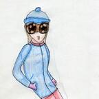 Snowborderin
