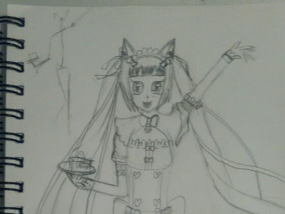 W.I.P. Maid-Catgirl