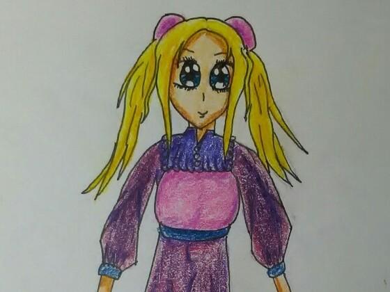 Diva im Kleid