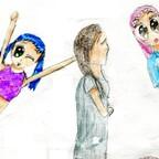 Weitere colorierte Skizzen