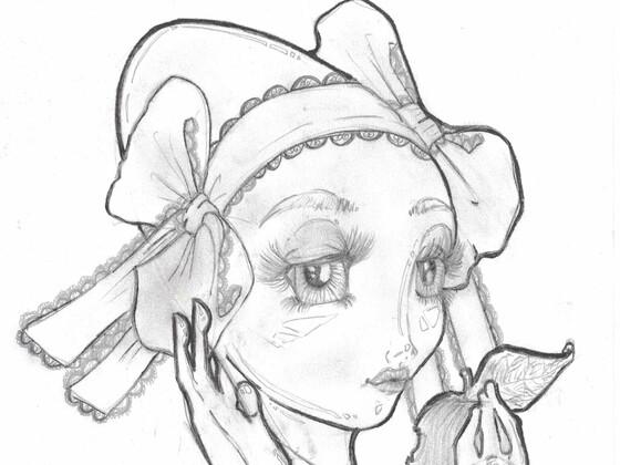 Graue Lolita