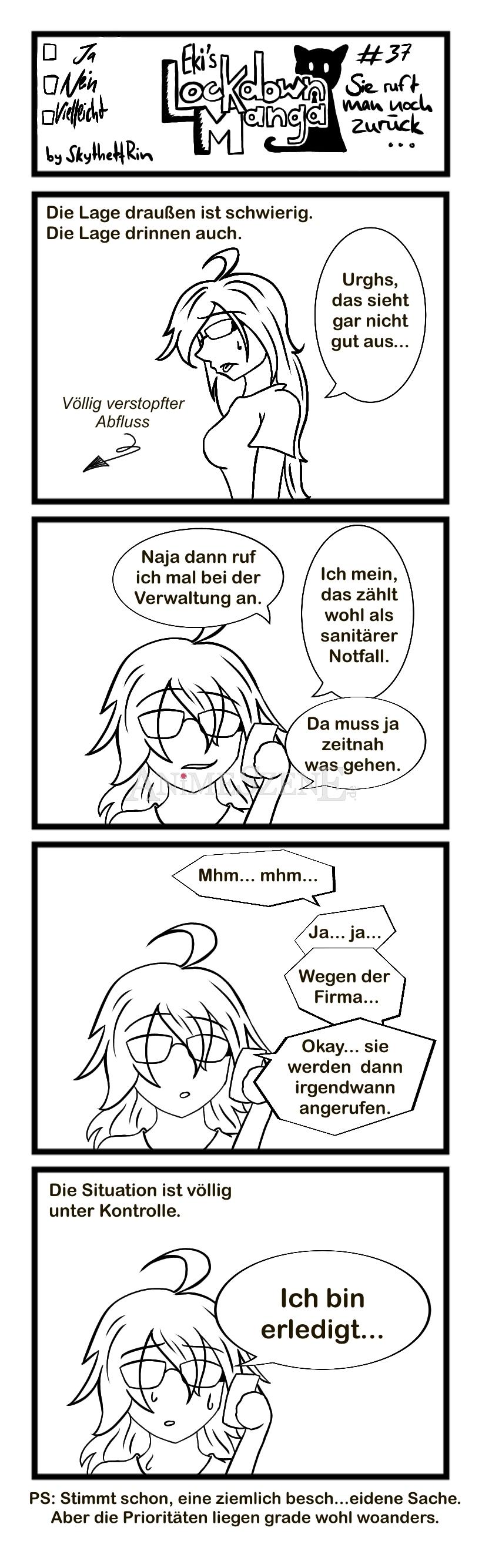 Eki's Lockdown Manga Nr. 37