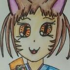 Catgirl im Kimono